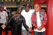 (L-R) Elijah Kelley, Thomas Jones, and Irv Gotti attend the World Of BET during the BET Experience Fan Fest at Los Angeles Convention Center on June 22, 2019 in Los Angeles, California.