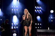 (EDITORIAL USE ONLY) Carrie Underwood performs on stage during day 2 for the 2019 CMA Music Festival on June 07, 2019 in Nashville, Tennessee.