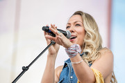 (EDITORIAL USE ONLY) Colbie Caillat of Gone West performs on stage for day 4 of the 2019 CMA Music Festival on June 09, 2019 in Nashville, Tennessee.