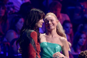 Michelle Monaghan and Kate Bosworth attend the 2019 CMT Music Awards at Bridgestone Arena on June 05, 2019 in Nashville, Tennessee.