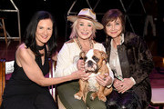 (L-R) Leslie Fram, Tanya Tucker and Pam Tillis attend the 2019 CMT Next Women Of Country Celebration at CMA Theater at the Country Music Hall of Fame and Museum on November 12, 2019 in Nashville, Tennessee.