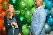 Christina Tosi and Chris Jackson attend the 2019 Chefs For Kids' Cancer at Metropolitan Pavilion Metro West  on March 12, 2019 in New York City.