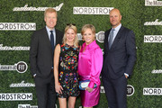 Nordstrom Co-President Erik Nordstrom, Couture Council Board Members Julie Macklowe and Yaz Hernandez, and Nordstrom Co-President of Stores Jamie Nordstrom attend the 2019 Couture Council Luncheon Honoring Christian Louboutin on September 04, 2019 in New York City.