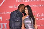 Kanye West and Kim Kardashian West attend the 2019 FGI Night Of Stars Gala at Cipriani Wall Street on October 24, 2019 in New York City.