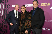 Tommy Hilfiger, Donna Karan, and Kenneth Cole attend 2019 FN Achievement Awards at IAC Building on December 03, 2019 in New York City.