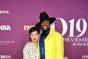 Sandra Choi and Billy Porter attends 2019 FN Achievement Awards at IAC Building on December 03, 2019 in New York City.