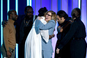 """Producers and cast of """"If Beale Street Could Talk"""" accept Best Feature onstage during the 2019 Film Independent Spirit Awards on February 23, 2019 in Santa Monica, California."""