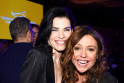Julianna Margulies and Rachael Ray attend A Funny Thing Happened On The Way To Cure Parkinson's benefitting The Michael J. Fox Foundation on November 16, 2019 in New York City.