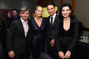 (L-R) Ali Wentworth, George Stephanopoulos, Keith Lieberthal, and Julianna Margulies attend A Funny Thing Happened On The Way To Cure Parkinson's benefitting The Michael J. Fox Foundation on November 16, 2019 in New York City.