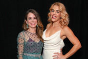 Jen Gotch and Busy Philipps attend the 2019 Glamour Women Of The Year Awards at Alice Tully Hall on November 11, 2019 in New York City.