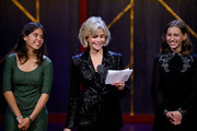 Xiye Bastida, Jane Fonda and Alexandria Villasenor speak onstage at the 2019 Glamour Women Of The Year Awards at Alice Tully Hall on November 11, 2019 in New York City.