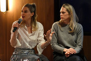 Sara and Erin Foster speak during the Erin and Sara Foster: Being Authentic on Social Media panel at 2019 Glamour Women of the Year Summit Experiences on November 10, 2019 in New York City.