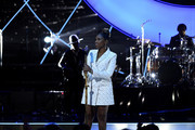 Jennifer Hudson performs at the 2019 Global Citizen Prize at the Royal Albert Hall on December 13, 2019 in London, England.