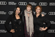"(L-R) Kathrine Narducci, Jane Rosenthal, Stephanie Kurtzuba attend during ""The Irishman"" Reception at the 2019 Hamptons International Film Festival on October 11, 2019 in East Hampton, New York."