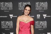 Lisa Campbell attends the 19th Annual Helpmann Awards Act II at Arts Centre Melbourne on July 15, 2019 in Melbourne, Australia.