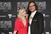 Kate Miller-Heidke and Keir Nuttall attend the 19th Annual Helpmann Awards Act II at Arts Centre Melbourne on July 15, 2019 in Melbourne, Australia.
