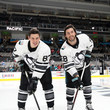 Kris Letang and Sidney Crosby
