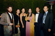 (L-R) Guests, Se- Ryung lim, Eva Chow, wearing Gucci, Lee Byung-hun and  Lee Jung-jae attend the 2019 LACMA Art + Film Gala Presented By Gucci at LACMA on November 02, 2019 in Los Angeles, California.