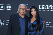 Edward James Olmos and Vanessa Lyon Photos Photo