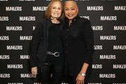 Gloria Steinem (L) and President & CEO, TIME?S UP Lisa Borders attend The 2019 MAKERS Conference at Monarch Beach Resort on February 7, 2019 in Dana Point, California.