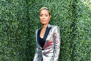 Jada Pinkett Smith attends the 2019 MTV Movie and TV Awards at Barker Hangar on June 15, 2019 in Santa Monica, California.