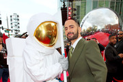 MTV Moon Man and Marc Jacobs attend the 2019 MTV Video Music Awards at Prudential Center on August 26, 2019 in Newark, New Jersey.