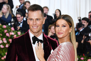 Gisele Bündchen and Tom Brady attend The 2019 Met Gala Celebrating Camp: Notes on Fashion at Metropolitan Museum of Art on May 06, 2019 in New York City.