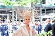 Celine Dion attends The 2019 Met Gala Celebrating Camp: Notes on Fashion at Metropolitan Museum of Art on May 06, 2019 in New York City.