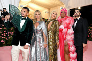 Char Defrancesco, Kate Moss, Rita Ora, Lizzo and Marc Jacobs attend The 2019 Met Gala Celebrating Camp: Notes on Fashion at Metropolitan Museum of Art on May 06, 2019 in New York City.