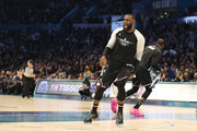 LeBron James #23 of the LA Lakers and Team LeBron reacts as they take on Team Giannis in the fourth quarter during the NBA All-Star game as part of the 2019 NBA All-Star Weekend at Spectrum Center on February 17, 2019 in Charlotte, North Carolina. Team LeBron won 178-164. NOTE TO USER: User expressly acknowledges and agrees that, by downloading and/or using this photograph, user is consenting to the terms and conditions of the Getty Images License Agreement. Mandatory Copyright Notice: Copyright 2019 NBAE