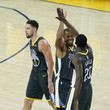 Andre Iguodala Klay Thompson Photos