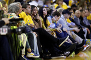 Beyonce attends Game Three of the 2019 NBA Finals between the Golden State Warriors and the Toronto Raptors at ORACLE Arena on June 05, 2019 in Oakland, California. NOTE TO USER: User expressly acknowledges and agrees that, by downloading and or using this photograph, User is consenting to the terms and conditions of the Getty Images License Agreement.