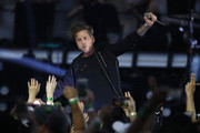 Ryan Tedder of One Republic performs during the 2019 NRL Grand Final match between the Canberra Raiders and the Sydney Roosters at ANZ Stadium on October 06, 2019 in Sydney, Australia.