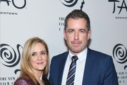 Samantha Bee and Jason Jones attend the 2019 New York Film Critics Circle Awards at TAO Downtown on January 07, 2020 in New York City.
