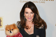 Reality TV Personality Lisa Vanderpump attends the 2019 Pre-GRAMMY event presented by OK!, Star, In Touch and Life & Style magazines at the Liaison Restaurant on February 07, 2019 in Los Angeles, California.