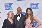 (L-R) Kerry Kennedy, Robert F. Smith, and Hope Dworaczyk attend the 2019 Robert F. Kennedy Human Rights Ripple Of Hope Awards on December 12, 2018 in New York City.
