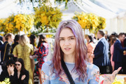 Grimes attends 2019 Roc Nation THE BRUNCH on February 9, 2019 in Los Angeles, California.
