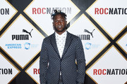 Antonio Brown arrives at the 2019 Roc Nation THE BRUNCH on February 09, 2019 in Los Angeles, California.