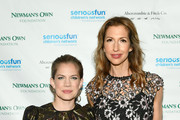 Anna Chlumsky and Alysia Reiner attend the 2019 SeriousFun Children's Network NYC Gala at Cipriani 42nd Street on May 23, 2019 in New York City.