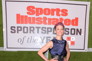 Professional Soccer Player Megan Rapinoe attends the 2019 Sports Illustrated Sportsperson Of The Year at The Ziegfeld Ballroom on December 09, 2019 in New York City.