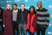 """(L-R) Actors Naomi Watts, Kelvin Harrison Jr., Tim Roth, and Octavia Spencer and director/writer Julius Onah attend the """"Luce"""" Premiere during the 2019 Sundance Film Festival  at Library Center Theater on January 27, 2019 in Park City, Utah."""
