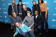 """Cast and crew attend the """"Relive"""" Premiere during the 2019 Sundance Film Festival  at The Marc Theatre on January 27, 2019 in Park City, Utah."""