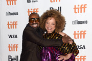 "Mike Epps and Ruth Carter attend the ""Dolemite Is My Name"" premiere during the 2019 Toronto International Film Festival at Princess of Wales Theatre on September 07, 2019 in Toronto, Canada."