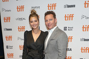 "Holly Valance and Nick Candy attend ""The Obituary Of Tunde Johnson"" photo call during the 2019 Toronto International Film Festival at TIFF Bell Lightbox on September 08, 2019 in Toronto, Canada."