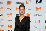 "Holly Valance attends ""The Obituary Of Tunde Johnson"" photo call during the 2019 Toronto International Film Festival at TIFF Bell Lightbox on September 08, 2019 in Toronto, Canada."