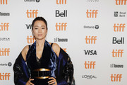 """Gong Li attends the """"Saturday Fiction"""" premiere during the 2019 Toronto International Film Festival at Winter Garden Theatre on September 07, 2019 in Toronto, Canada."""