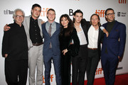 "Marlon Williams, George MacKay, Essi Davis, Earl Cave, Sean Keenan and Shaun Grant attend the ''True History Of Kelly Gang"" premiere during the 2019 Toronto International Film Festival at Roy Thomson Hall on September 11, 2019 in Toronto, Canada."