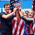 Bethanie Mattek-Sands Photos - (L-R) Jamie Murray of Great Britain and Bethanie Mattek-Sands of the United States pose with the trophy after winning their Mixed doubles final match against Michael Venus of New Zealand and Hao-Ching Chan of Chinese Taipei on day thirteen of the 2019 US Open at the USTA Billie Jean King National Tennis Center on September 07, 2019 in the Queens borough of New York City. - 2019 US Open - Day 13