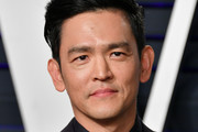 John Cho attends the 2019 Vanity Fair Oscar Party hosted by Radhika Jones at Wallis Annenberg Center for the Performing Arts on February 24, 2019 in Beverly Hills, California.