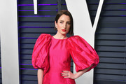 Zoe Lister-Jones attends the 2019 Vanity Fair Oscar Party hosted by Radhika Jones at Wallis Annenberg Center for the Performing Arts on February 24, 2019 in Beverly Hills, California.
